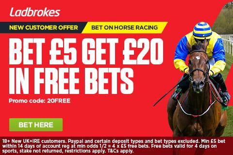 Ladbrokes horse racing betting odds morte de joelmir betting tips